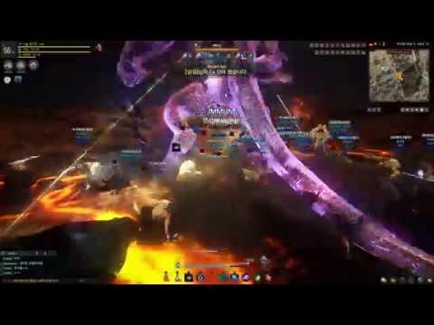 Black Desert Guild Raid Boss Battle