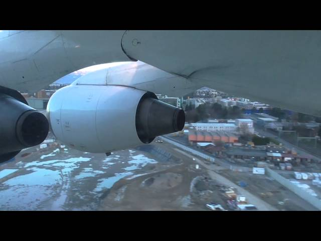 FLIGHT : Great landing at GVA with an AVRO RJ100 SWISS