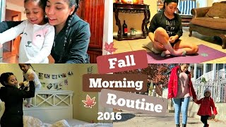 college mommy morning routine day off 2016