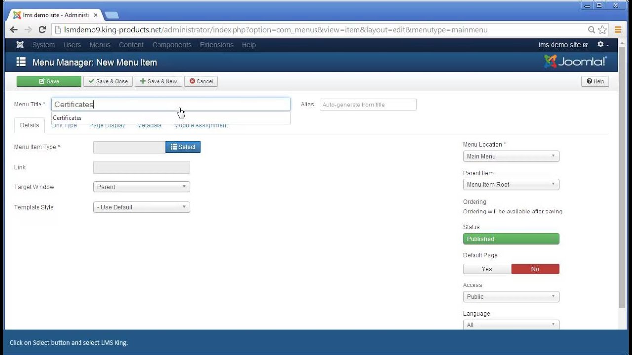 Joomla LMS King: Purchase Certification Paths - YouTube