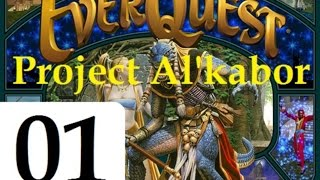 Let's Play Everquest (The Al'Kabor Project) Episode 1: Howling Stone - Drusella Sathir