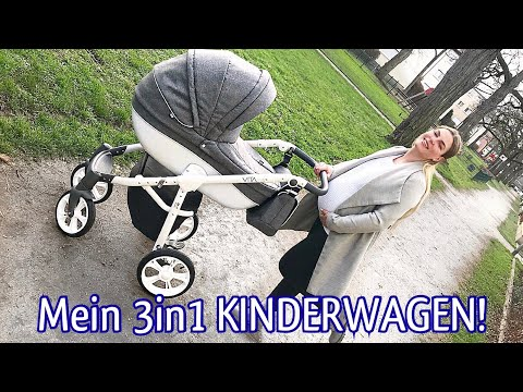 mein kinderwagen 3in1 vita von my junior review inkl. Black Bedroom Furniture Sets. Home Design Ideas
