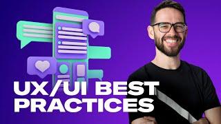 UX/UI BEST PRACTICES FOR WEB DESIGN: Free Web Design Course 2020 | Episode 12