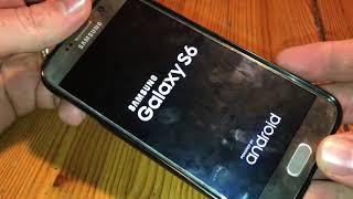Samsung Galaxy S6 (Edge) Neustart erzwingen durch Tastenkombination im Fall einer Fehlfunktion DIY