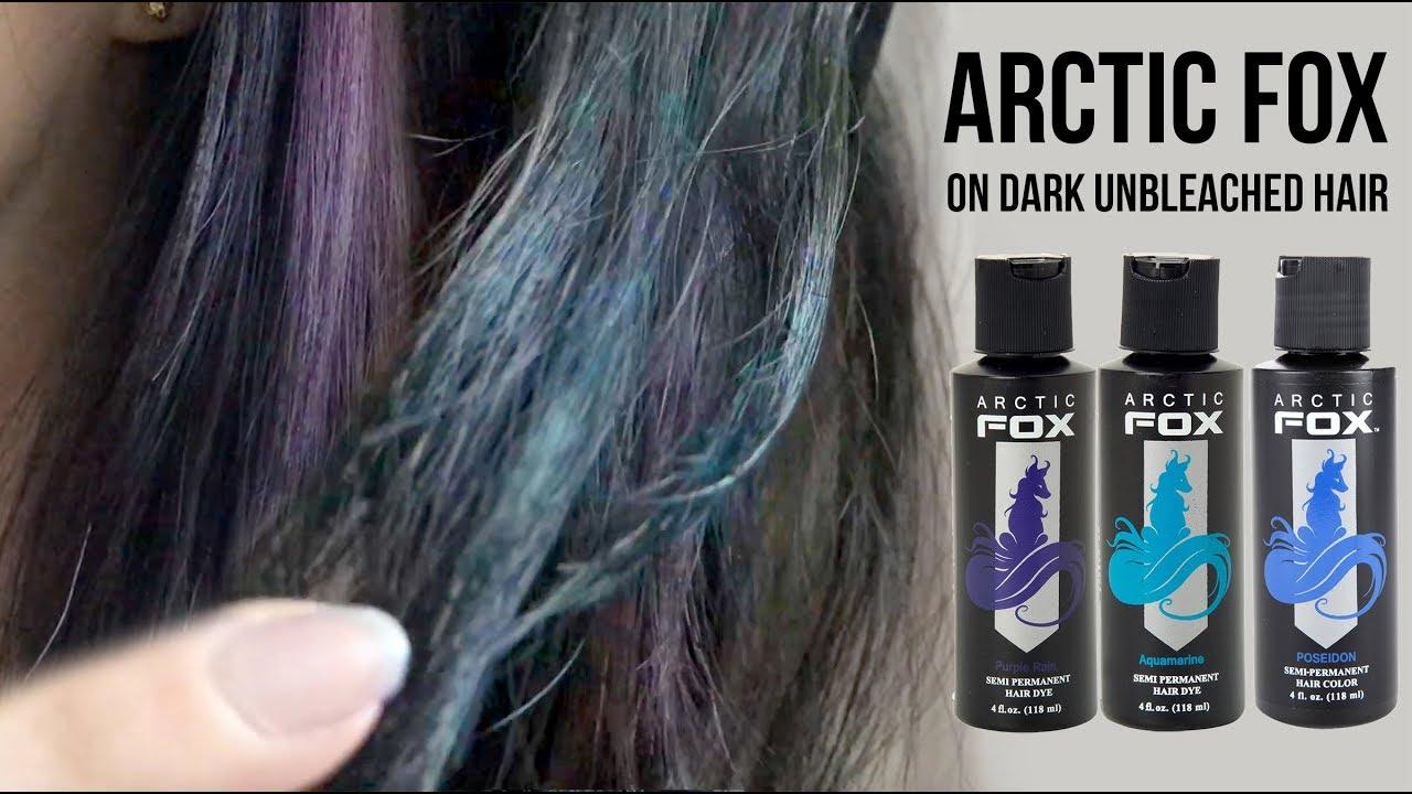 arctic fox hair dye dark unbleached