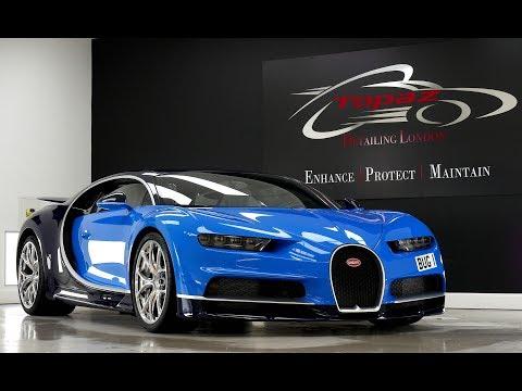 Bugatti Chiron Detailing & Full PPF Installation Topaz Detailing London