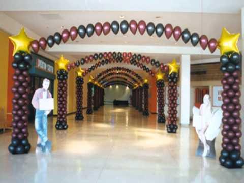 Balloon decoration ideas for birthday parties youtube for Balloon decoration ideas youtube