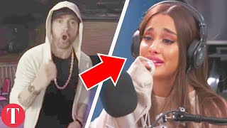 Eminem Calls Out Ariana Grande, Justin Bieber And Other Celebs On 11 Min Rap Freestyle