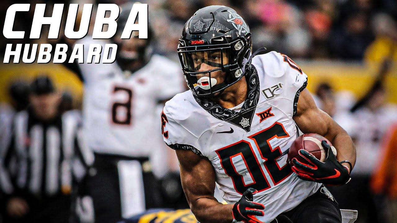 College Football's Leading Rusher   Chuba Hubbard Oklahoma State Highlights ᴴᴰ
