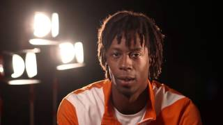 Gael Monfils' message for fans