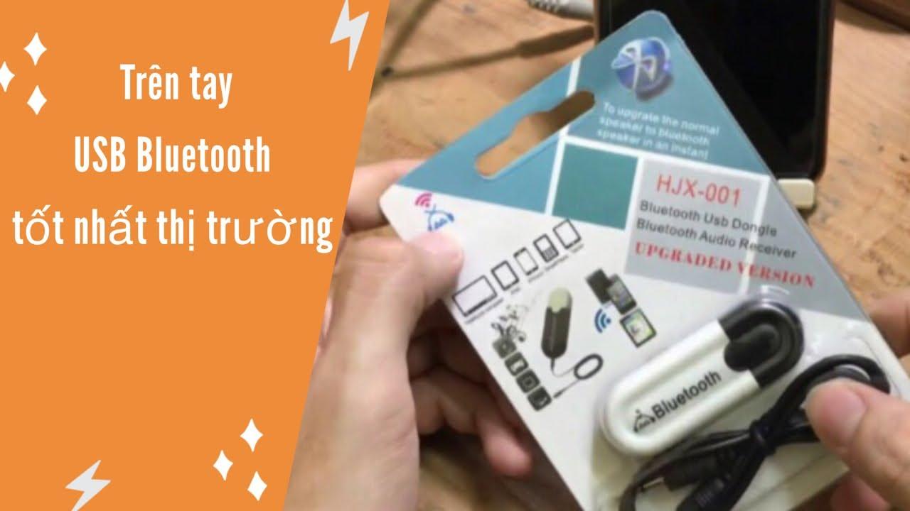Trên tay USB Bluetooth HJX-001 biến loa thường thành loa Bluetooth tiện dụng | 60K | 0972.704.294