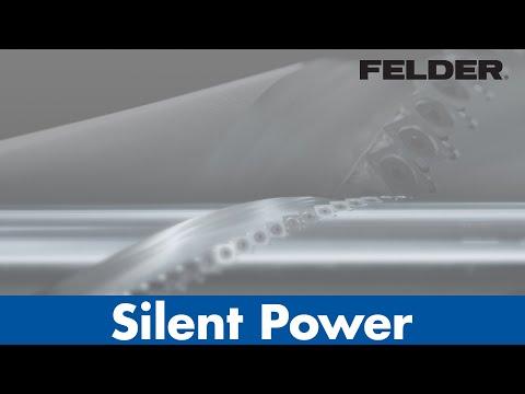 Silent-POWER® – Spiralmesser-Hobelwelle
