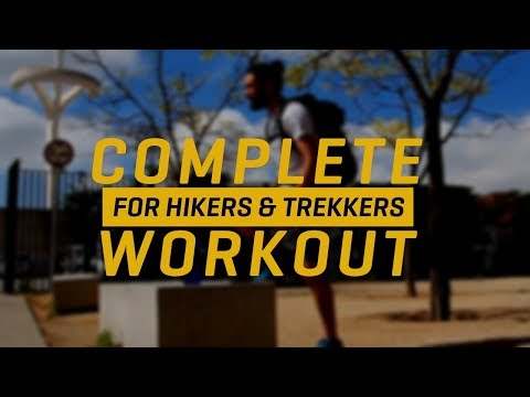 Workout for Hikers & Trekkers (Full Routine)