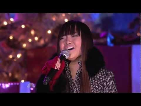 Charice: Grown-Up Christmas List — 2010 Rockefeller Center Tree Lighting Ceremony