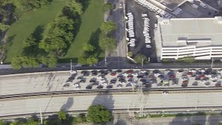 WEB EXTRA: Protesters Take Over I-95 In Downtown Miami