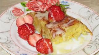 запеканка вермишель вкусныйзавтрак Запеканка Бабка из вермишели с яйцами Готовлю в мультиварке