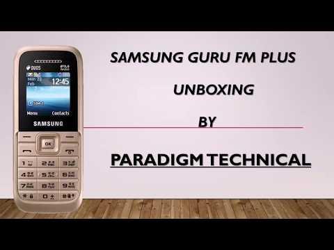 SAMSUNG Guru FM Plus Unboxing