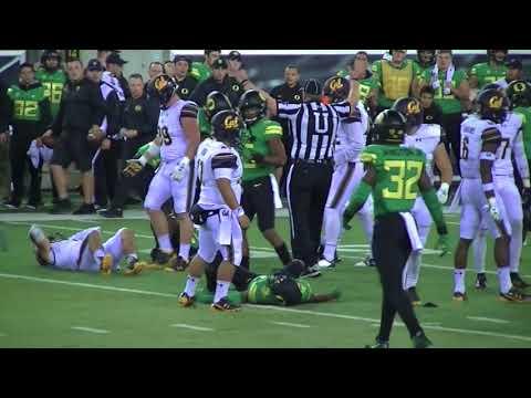 Oregon beats Cal 45-24 (2017 FULL GAME Highlights)