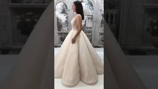 Свадебное платье Кекс минимализм в свадебной моде 2018 гоба