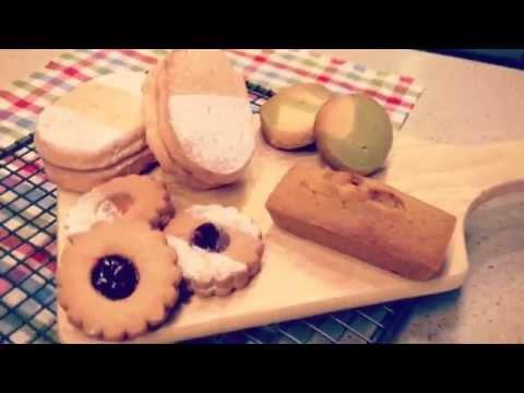 Making of Pisatchio financier, marble, dakwaz, linzer cookies (recipe on my blog)
