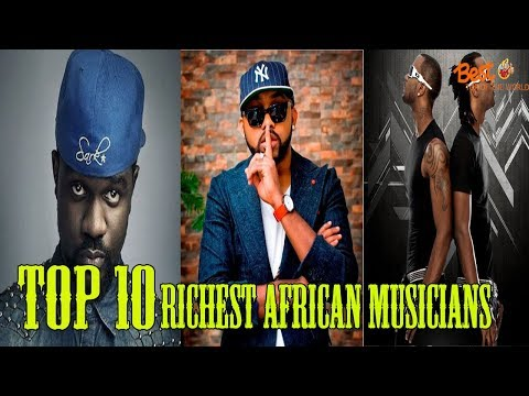 Top 10 Richest African Musicians in the World
