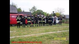 Gminne zawody sportowo pożarnicze Krasienin 2009 ćwiczenie bojowe OSP Świdnik Duży