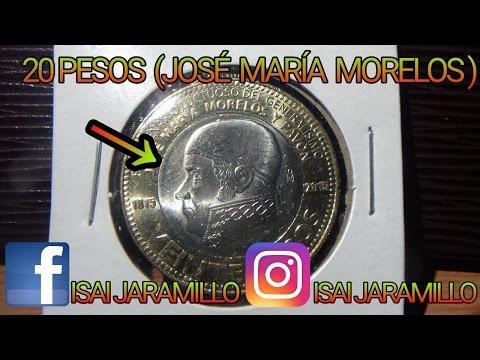 20 PESOS (JOSE MARÍA MORELOS Y PAVÓN )
