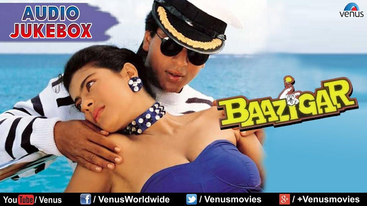 Baazigar full songs jukebox shahrukh khan kajol shilpa shetty
