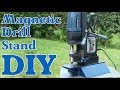Making Magnetic Drill Stand DIY