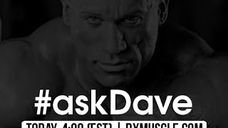 Ask Dave Live 8/24/16 !