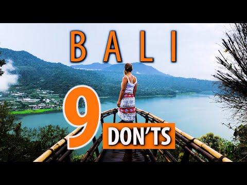 9 Don'ts of Bali Travel Tips
