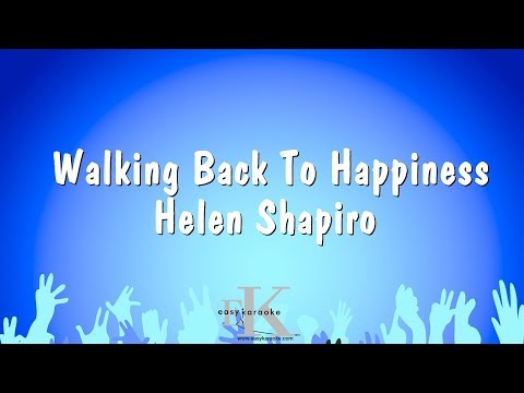 Walking Back To Happiness - Helen Shapiro (Karaoke Version)