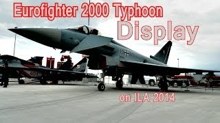 Eurofighter 2000 Typhoon Display on ILA