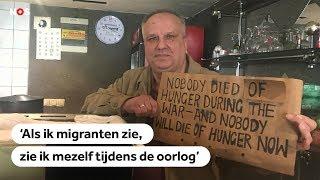 BOSNIË: Oorlogsveteraan voedt migranten aan buitengrens EU