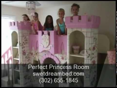 Girls Castle Bed Girls Princess Room Kids Theme Rooms
