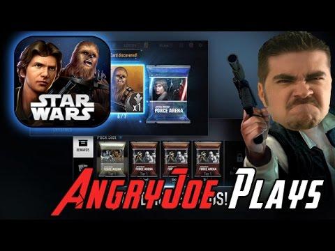 AngryJoe Plays Star Wars Force Arena