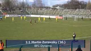 BFC Dynamo - VFC Plauen,23. Spieltag 2015