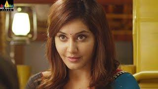 Oohalu Gusagusalade Movie Srinivas Avasarala Flirting with Rashi Khanna | Sri Balaji Video