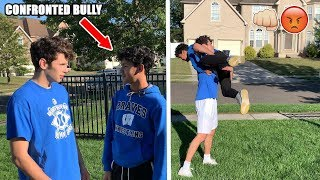 My Brother CONFRONTED MY SCHOOL BULLY! (GONE WRONG)