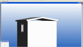 Draw A Simple Steel Framed Shed Using Vertex Building Design Software