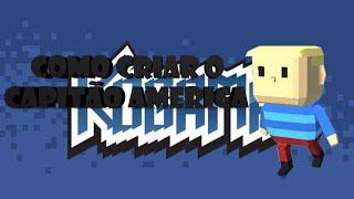 Tutorial KoGaMa : Como Criar Capitão America