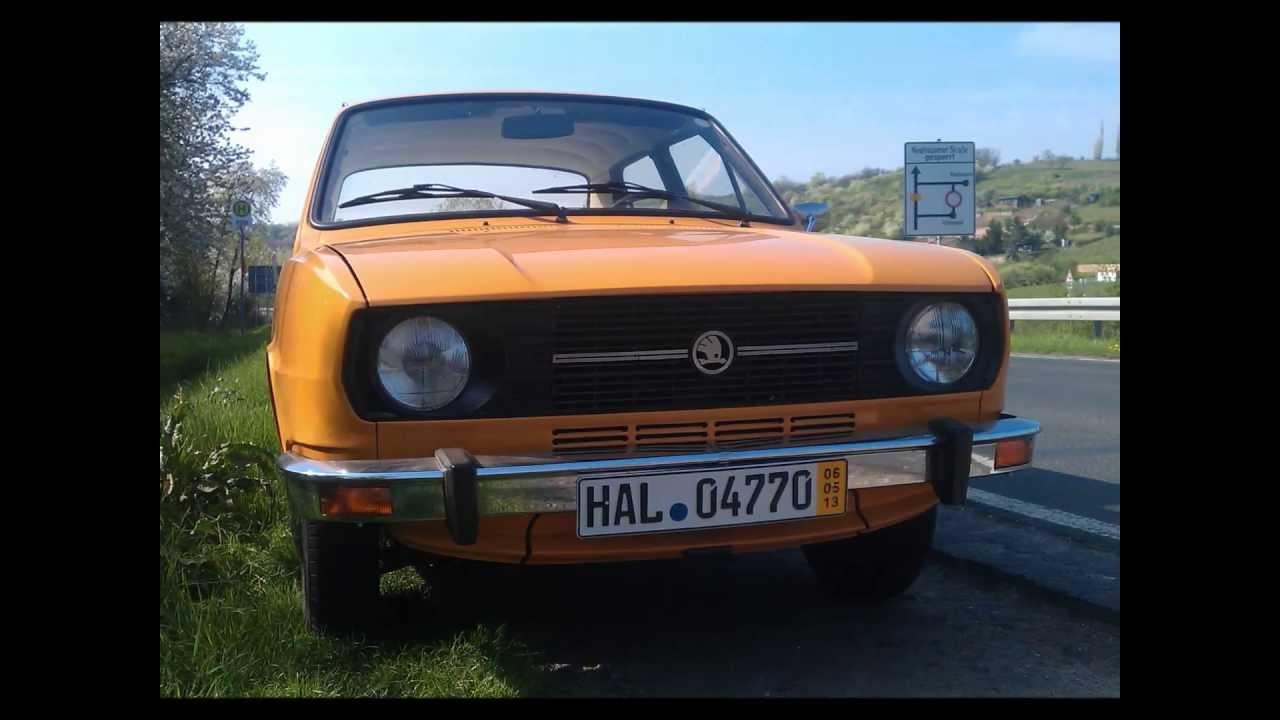 ŠKODA 105 S Oldtimer Made in ČSSR classic car PKW History  vehicle