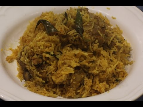 sri lankan style chicken biryani recipe