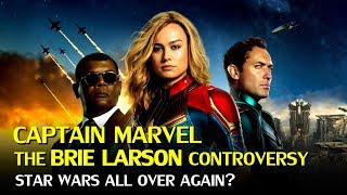 Captain Marvel: The Brie Larson Controversies affecting the Boxoffice?