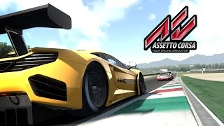 Assetto Corsa GT3 Race PC Gameplay - Ultra Graphics Awesome @ 60fps!