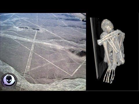 ALIEN MUMMY Found Near Peru's Nazca Lines? 6/22/17