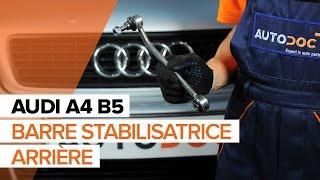 Comment changer Biellette de suspension AUDI A4 (8D2, B5) - guide vidéo