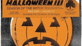 Halloween III: Season Of The Witch Soundtrack Tracklist Vinyl - Michael Myers film series