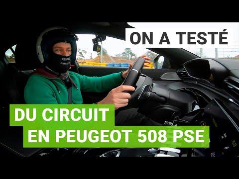 La Peugeot 508 PSE à l'épreuve du CIRCUIT ! 🏁
