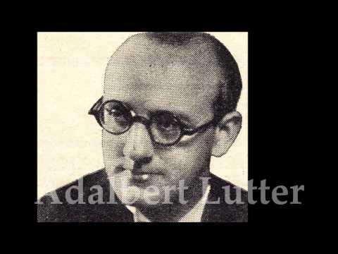 Adalbert Lutter's Orchestra, Voc. Max Mensing - Niemand fragt uns (Tango)